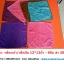 ผ้านาโน สีพื้น เช์้อมือ 12*12นิ้ว โหลละ 60บาท ส่ง 200โหล thumbnail 1