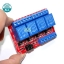 Relay 4 Channel 24V relay Active High / LOW Relay Module Shield 250V/10A relay 24v thumbnail 5