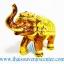 ของพรีเมี่ยม ของที่ระลึกไทย ช้าง แบบ 15 Size S สีทอง-น้ำตาล thumbnail 2
