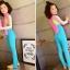 bodysuitกันยูวี สีชมพู-เหลือง-ฟ้า thumbnail 5