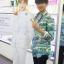 เสื้อเชิ้ต SAINT LAURENT HAWAIIAN Sty.G-Dragon -ระบุไซต์- thumbnail 2