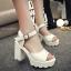 รองเท้าแฟชั่นสไตล์เกาหลี สูง 10 ซม. ขนาด 35-39 thumbnail 1