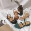 รองเท้าแฟชั่นสไตล์เกาหลี [พร้อมส่ง] thumbnail 1