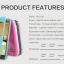 Samsung S7 - เคสฝาพับ Nillkin Sparkle leather case แท้ thumbnail 4