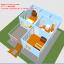 บ้านโมบาย ขนาด 6*7 ระเบียง 3*3 เมตร +ยกสูง 2 เมตร (1ห้องนอน 2ห้องน้ำ 1ห้องรับเเขก 1ห้องครัว) thumbnail 4