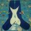 ถุงเท้า nike น้ำเงิน-ขาว thumbnail 1