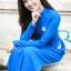 ชุดเวียดนามผู้หญิง สีน้ำเงิน (งานสั่งตัดพิเศษ) thumbnail 8