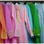 ชุดเวียดนามหญิงชั้นสูง ลายหงส์มังกร (ส่งฟรี EMS) - สีเหลือง thumbnail 9