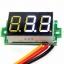 """ดิจิตอล โวลต์มิเตอร์ 0 ถึง100 โวลต์ จอขนาด 0.36"""" สีขาว Mini 3 Digital 0.36'' LED DC 0 ถึง 100 V Volt Voltage Meter Valtmeter 3-28V Power Supply thumbnail 1"""