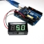 LED Voltage Meter Mini Digital Voltmeter DC 5-28V สีเขียว thumbnail 1