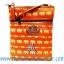 ของฝากจากไทย กระเป๋าสะพายลายช้างสายหนัง แบบ 15 สีส้ม thumbnail 1