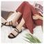 รองเท้าแฟชั่นสไตล์เกาหลี [พร้อมส่ง] thumbnail 10
