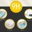 Samsung S6 Edge Plus (เต็มจอ) - ฟิลม์ กระจกนิรภัย P-One 9H 0.26m ราคาถูกที่สุด thumbnail 8