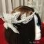 MAI05 มงกุฎผีเสื้อตัวใหญ่สีเงิน (งาน handmade)**สินค้ามีจำกัดในเเต่ละล๊อต** thumbnail 6