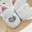 รองเท้าผ้าใบหนังนิ่มปักแมวด้านหลัง ได้เชือก 2 สี [พร้อมส่ง] thumbnail 7