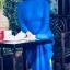 ชุดเวียดนามผู้หญิง สีน้ำเงิน (งานสั่งตัดพิเศษ) thumbnail 4