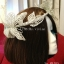MAI05 มงกุฎผีเสื้อตัวใหญ่สีเงิน (งาน handmade)**สินค้ามีจำกัดในเเต่ละล๊อต** thumbnail 7