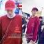 เสื้อแขนยาว I Feel Like A Pablo KANYE WEST RED Sty.KRIS EXO -ระบุไซต์- thumbnail 1