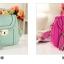 **Pre-order** กระเป๋า axixi แท้ มี 5 สี สีเขียว ชมพู ครีม บานเย็น เหลือง thumbnail 7