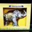ของพรีเมี่ยม ของที่ระลึกไทย ช้าง แบบ 4 Size M สีเงินทอง thumbnail 2