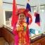 ชุดเวียดนามหญิงชั้นสูง ลายหงส์คู่มังกร (สีชมพูแดง) thumbnail 1