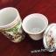 ถ้วยแก้วเซรามิค กรองชา+ชงชา แบบคลาสสิค พร้อมที่กรองชา thumbnail 6