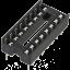 ซ็อคเกต socket 16 Pin DIP SIP IC Sockets thumbnail 1