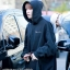 Hoodie Champion Black Sty.Youngjae GOT7 -ระบุสี/ไซต์- thumbnail 1