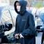 Hoodie Champion Black Sty.Youngjae GOT7 -ระบุสี/ไซต์- thumbnail 1