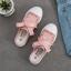 รองเท้าผ้าใบเปิดส้นผูกริบบิ้น P27 thumbnail 15