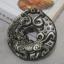 จี้เหรียญปี่เซี๊ยะหินออบซีเดียม(Obsidian) thumbnail 1