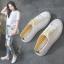 รองเท้าผ้าใบเปิดส้นเชือกไล่สี (สินค้าพร้อมส่ง) thumbnail 16