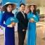ชุดเวียดนามผู้หญิง สีฟ้าน้ำทะเล (งานสั่งตัดพิเศษ) thumbnail 2