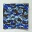 10 ผืน ผ้าพันคอ ผ้าโพกหัว ลายทหาร สีน้ำเงิน ผืนใหญ่ thumbnail 2