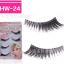 HW-24 ขนตาเอ็นใส (ขายปลีก) เเพ็คละ 5 คู่ thumbnail 1