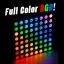 LED Dot Matrix 8x8 Full Color RGB ขนาด 60mm x 60mm thumbnail 1
