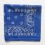 1ผืน สีน้ำเงิน ผ้าพันคอคาวบอย ผ้าโพก Bandanas Prisley thumbnail 2