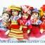 ของขวัญไทย ตุ๊กตาชาวเขา ชาวดอย (แพ็ค 5 ตัว) ตัวใหญ่ thumbnail 3