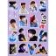 สติ๊กเกอร์พีวีซีเซต BTS LOVE YOURSELF MEMBER -ระบุสมาชิก- thumbnail 3