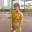 เสื้อไหมพรมแขนยาวเว้าไหล่แต่งหมุด thumbnail 3