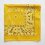 1โหล สีเหลือง ผ้าพันคอคาวบอย ผ้าโพก Bandanas Prisley thumbnail 2