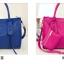 **Pre-order** กระเป๋า axixi แท้ มี 6 สี สีนำ้เงิน ครีม เขียว ชมพูบานเย็น ส้ม ดำ thumbnail 5