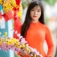 ชุดเวียดนามผู้หญิง สีส้ม (งานสั่งตัดพิเศษ) thumbnail 8