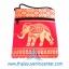 ของฝากจากไทย กระเป๋าสะพายลายช้างมินิ (แพ็ค 6 ชิ้น คละสี) thumbnail 3