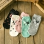 Cats socks ถุงเท้าลายแมว (3 คู่ 100 บาท) thumbnail 4