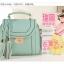 **Pre-order** กระเป๋า axixi แท้ มี 5 สี สีเขียว ชมพู ครีม บานเย็น เหลือง thumbnail 13