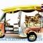 รถตุ๊กตุ๊กจำลอง Big Size ของพรีเมี่ยม Size XL แบบ 11 สีทอง มีธงชาติไทย thumbnail 1