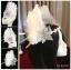 MAI17 มงกุฎขนนกขาว ผี้เสื้อเงิน (งาน handmade)**สินค้ามีจำกัด** thumbnail 1