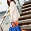 **Pre-order** กระเป๋า axixi แท้ มี 6 สี สีนำ้เงิน ครีม เขียว ชมพูบานเย็น ส้ม ดำ thumbnail 1