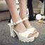 รองเท้าแฟชั่นสไตล์เกาหลี สูง 10 ซม. ขนาด 35-39 thumbnail 2